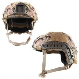 FAST Helmet Cover Stretch Multicam