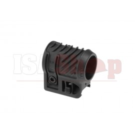 Picatinny Flashlight Adaptor Black