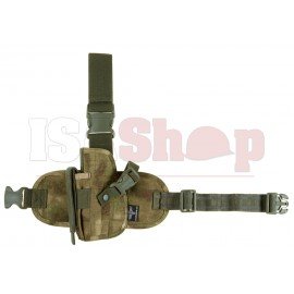Dropleg Holster Left A-TACS FG