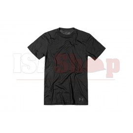 UA Tactical HeatGear Charged Cotton Tee Black