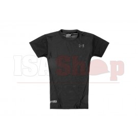 UA Tactical HeatGear Compression Tee Black