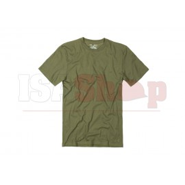 UA Tactical HeatGear Charged Cotton Tee OD