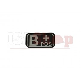 Bloodtype Rubber Patch B Pos SWAT