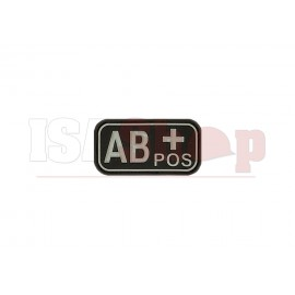 Bloodtype Rubber Patch AB Pos SWAT