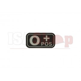 Bloodtype Rubber Patch 0 Pos SWAT