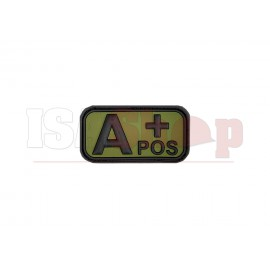Bloodtype Rubber Patch A Pos Forest