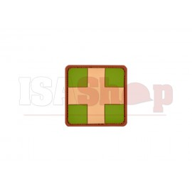 Red Cross Rubber Patch Multicam