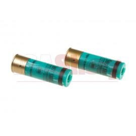 Shotgun Shells 2pcs 30rds Green