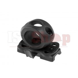 Single Clamp 1 Inch Black