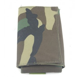 Molle Foldable Tool Pouch Woodland
