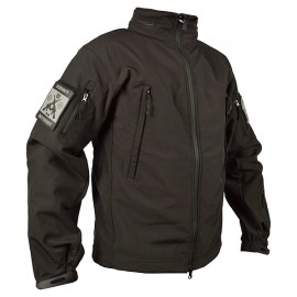 Soft Shell Tactical Jacket Black
