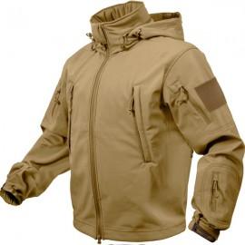 Soft Shell Tactical Jacket Khaki