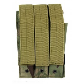 Molle Pouch Side Arm 3 Mags Closed Multicam