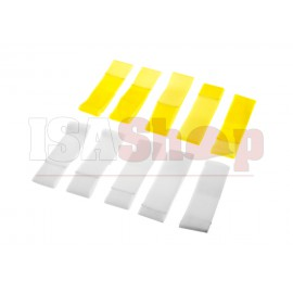 Team Patch Set Yellow / White