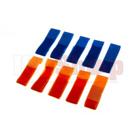 Team Patch Set Blue / Orange