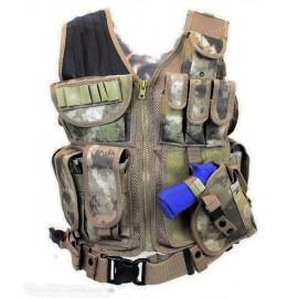 Predator Tactical Vest A-TACS AU
