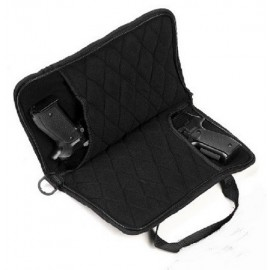Double Pistol Bag Black