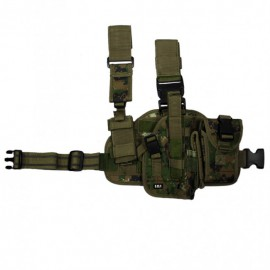 Dropleg Holster Right MARPAT Woodland