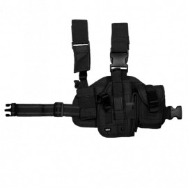 Dropleg Holster Right Black