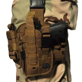 Dropleg Holster Left Khaki