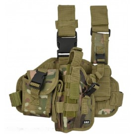 Dropleg Holster Left Multicam