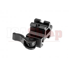 QD Angle Mount Double Rail 1-Slot