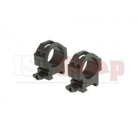 30mm CNC Mount Rings Low