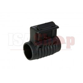 Offset Flashlight Mount Black