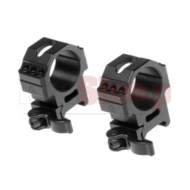 30mm QD Pro Max Stength Rings Medium 25mm wide