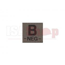 B Neg Bloodgroup Patch RAL7013