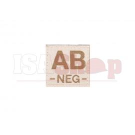 AB Neg Bloodgroup Patch Desert