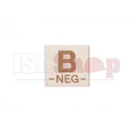 B Neg Bloodgroup Patch Desert