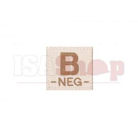 B Neg Bloodgroup Patch Desert