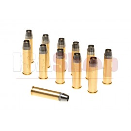 Revolver Shells Metal 12pcs