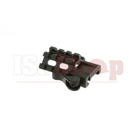 QD Angle Mount Triple Rail 3-Slot