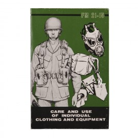 Boek Care And Use Of Individual Clothing And Equipment