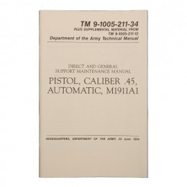 Boek .45 M1911 Manual