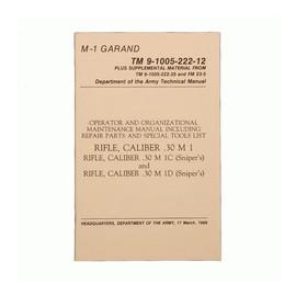 Boek M1 Garand Manual