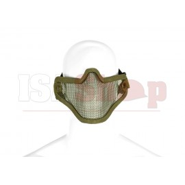 Steel Half Face Mask OD