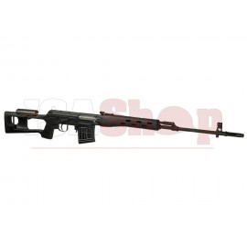 SVD Dragunov Sniper Rifle Black