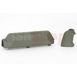 ARES Amoeba Striker S1 Pistol Grip with Cheek Pad Set for Amoeba Striker S1 Sniper - OD