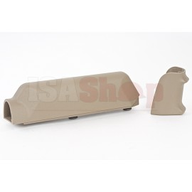 ARES Amoeba Striker S1 Pistol Grip with Cheek Pad Set for Amoeba Striker S1 Sniper - Tan