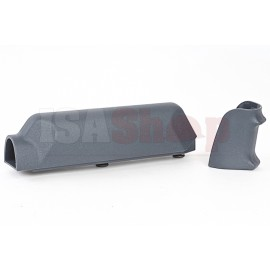 ARES Amoeba Striker S1 Pistol Grip with Cheek Pad Set for Amoeba Striker S1 Sniper - Urban Grey