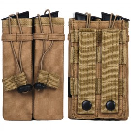 Molle Pouch Side Arm 2 Mags Khaki