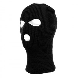 Balaclava 3 Hole Black