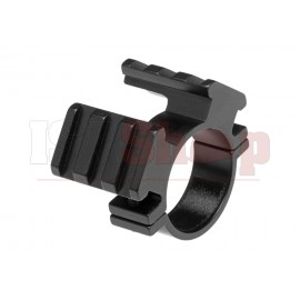 30mm Dual Offset Mount Black