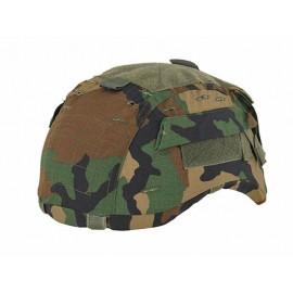 Mich2001 Helmet Cover Gen2 Woodland