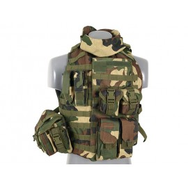 Interceptor Modular Body Armor Woodland