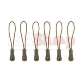 CG Zipper Puller Medium 6-Pack RAL7013