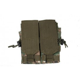 Molle Double Mag Pouch MARPAT Woodland